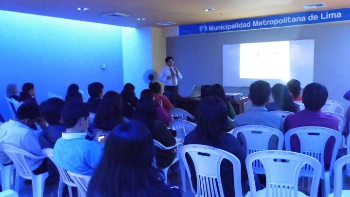 Conferencias Tecnológicas en la Municipalidad de Lima